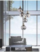 RRP £185 Boxed Nova Luce Cedro Ceiling Light