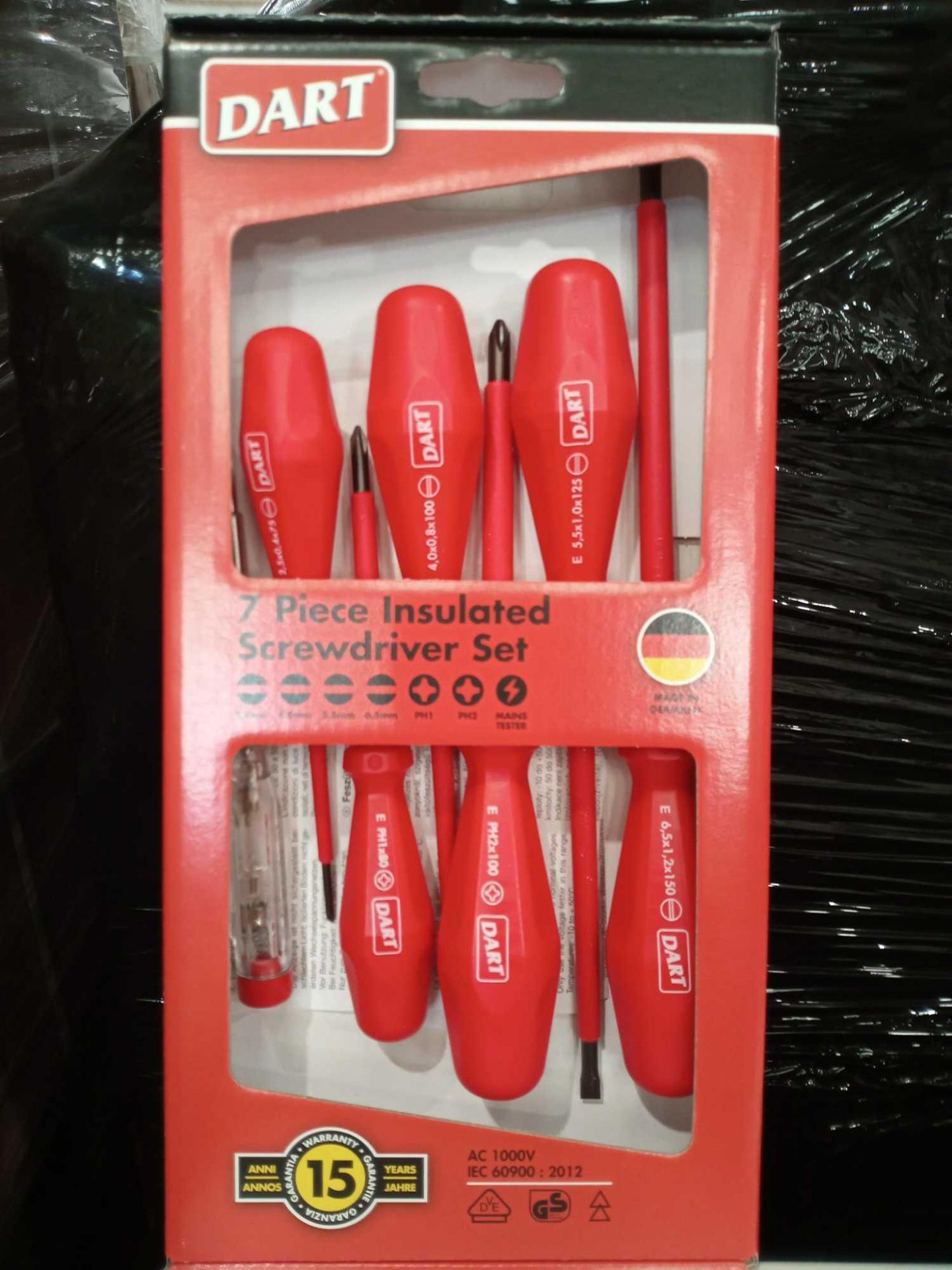 Lot 141 - RRP £35 Each Boxed Brand New 7 Pcs Insulated Screwdriver Sets
