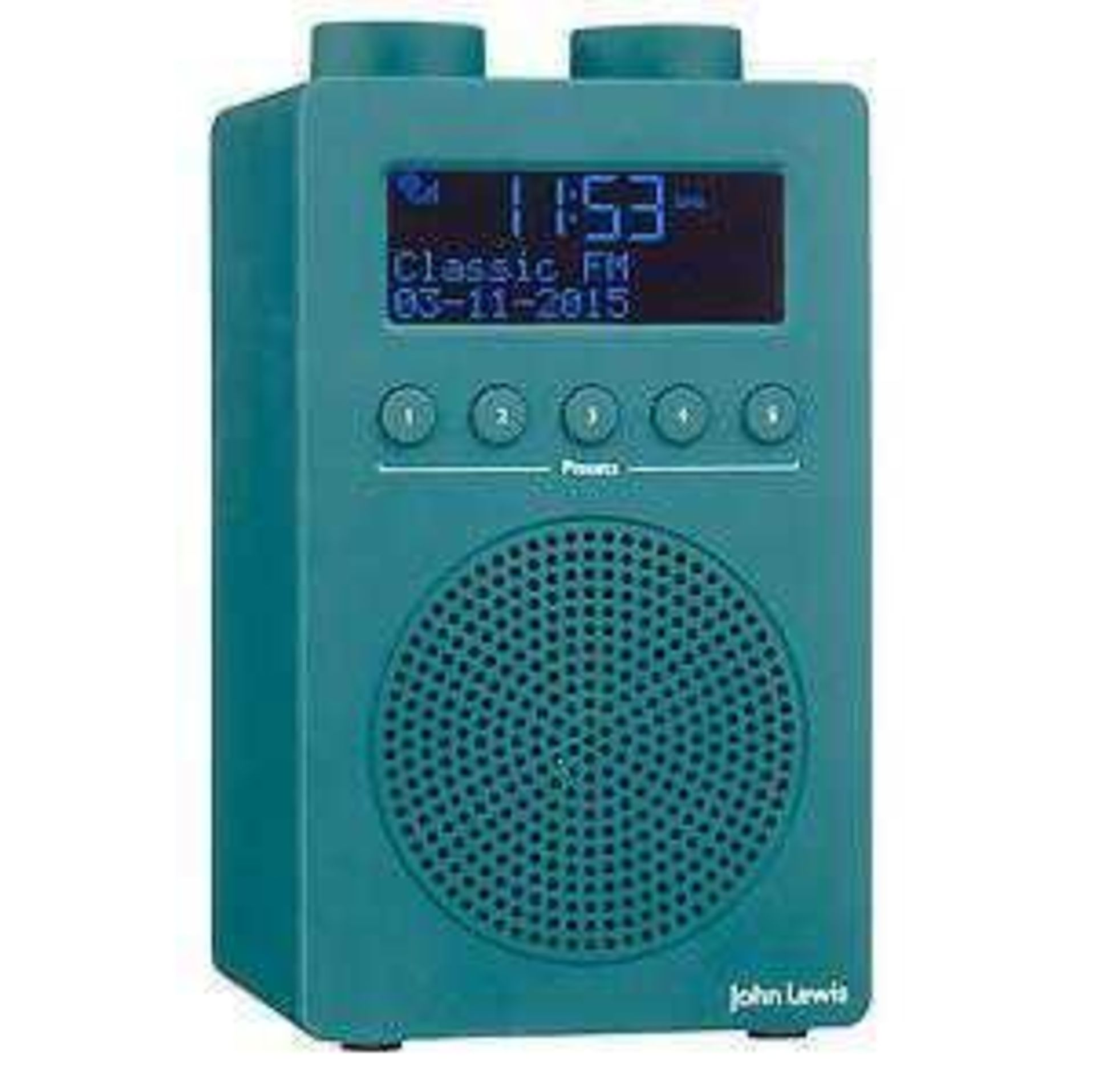 Lot 219 - RRP £50 Lot To Contain A John Lewis Spectrum Solo Radio