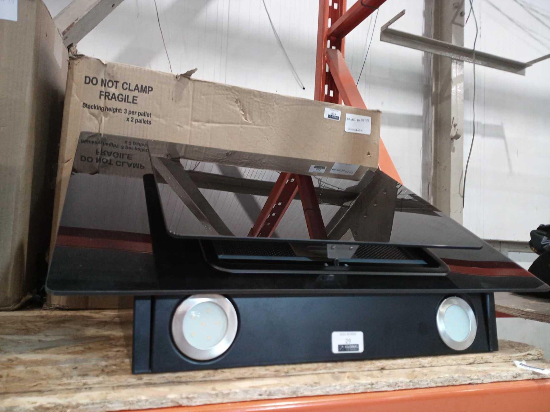 Lot 29 - RRP £60 Box 60Cm Angled Glass Hood