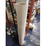 RRP £100 Boxed Cream Fabric Designer Floor Lamp