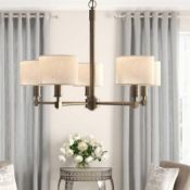 RRP £200 Renderos 5 Light Chandelier