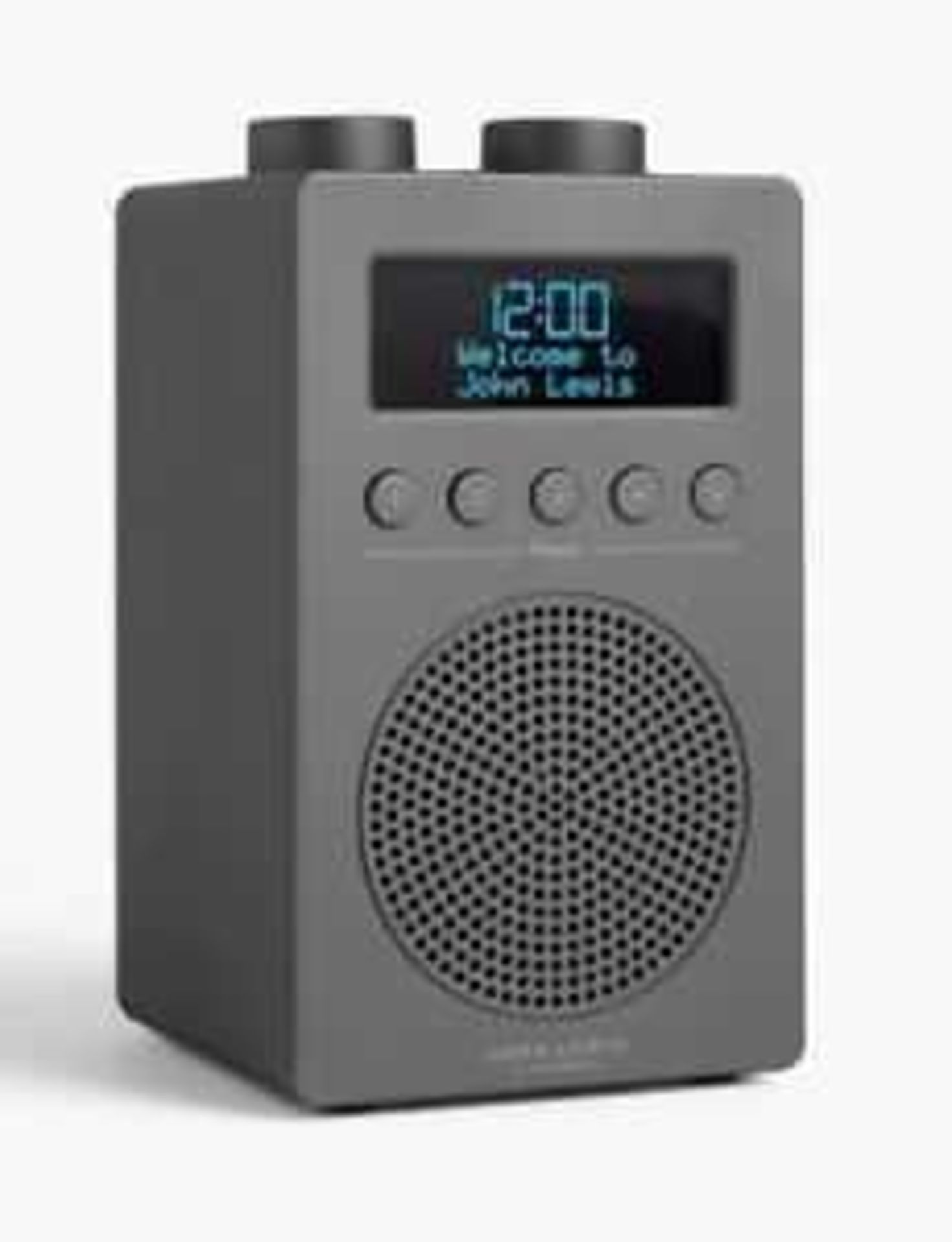 Lot 220 - RRP £50 Lot To Contain A John Lewis Spectrum Solo Radio