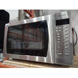 RRP £270 Boxed John Lewis & Partners Jlcmwo010 27L Combination Microwave, Stainless Steel