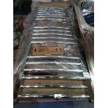 RRP £110 Unboxed Stainless Steel Towel Ladder Heating Rail