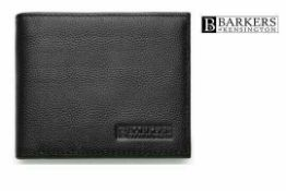 RRP £30 Barkers Of Kensington Genuine Leather Wallet