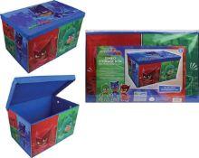 Rrp £96 Brand New Pjmasks Jumbo Storage Boxes