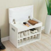 RRP £115 Shoe Storage Bench