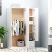 Rrp £330 Abrah Corner Wardrobe