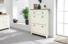 RRP £90 12 Pair Shoe Cabinet
