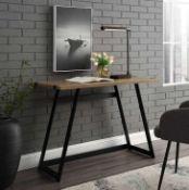 """RRP £100 42"""" Metal Writing Desk"""