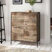 Rrp £335 Prater 8 Drawer Chest