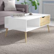 Rrp £70 Darrin Coffee Storage Table