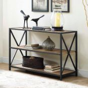 RRP £80 Wooden Media Bookshelf
