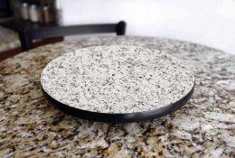 RRP £100 Granite Lazy Susan Chopping Block