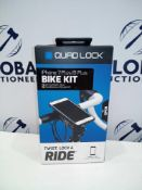 RRP £50 Each Boxed Assorted Quad Lock Bike Kit, Bicycle Phone Mounts Compatible With The Iphone 7 An