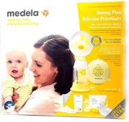 RRP £140 Boxed Medela Swing Flex Premium Edition Electric 2-Phase Breast Pump