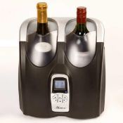 RRP £100 Boxed Brand New Hostess Hw02Ma Twin Bottle Wine Chiller