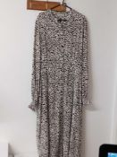 RRP £100 John Lewis Somerset By Alice Temperley Animal Print Shirt Dress Size 14