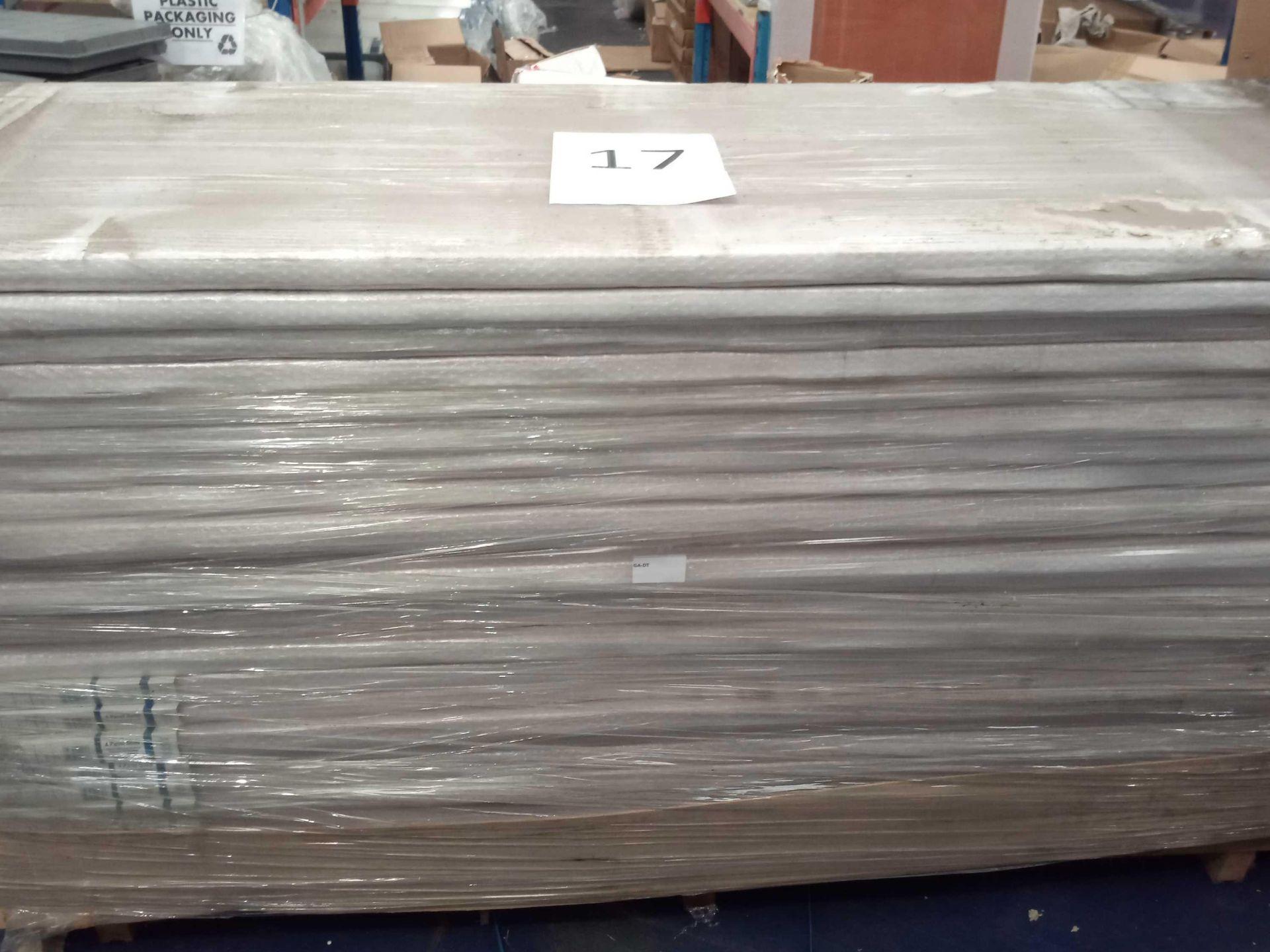 Rrp £4200 Brand New 4 Panel Solid Cherry Hardwood Doors - Image 3 of 3