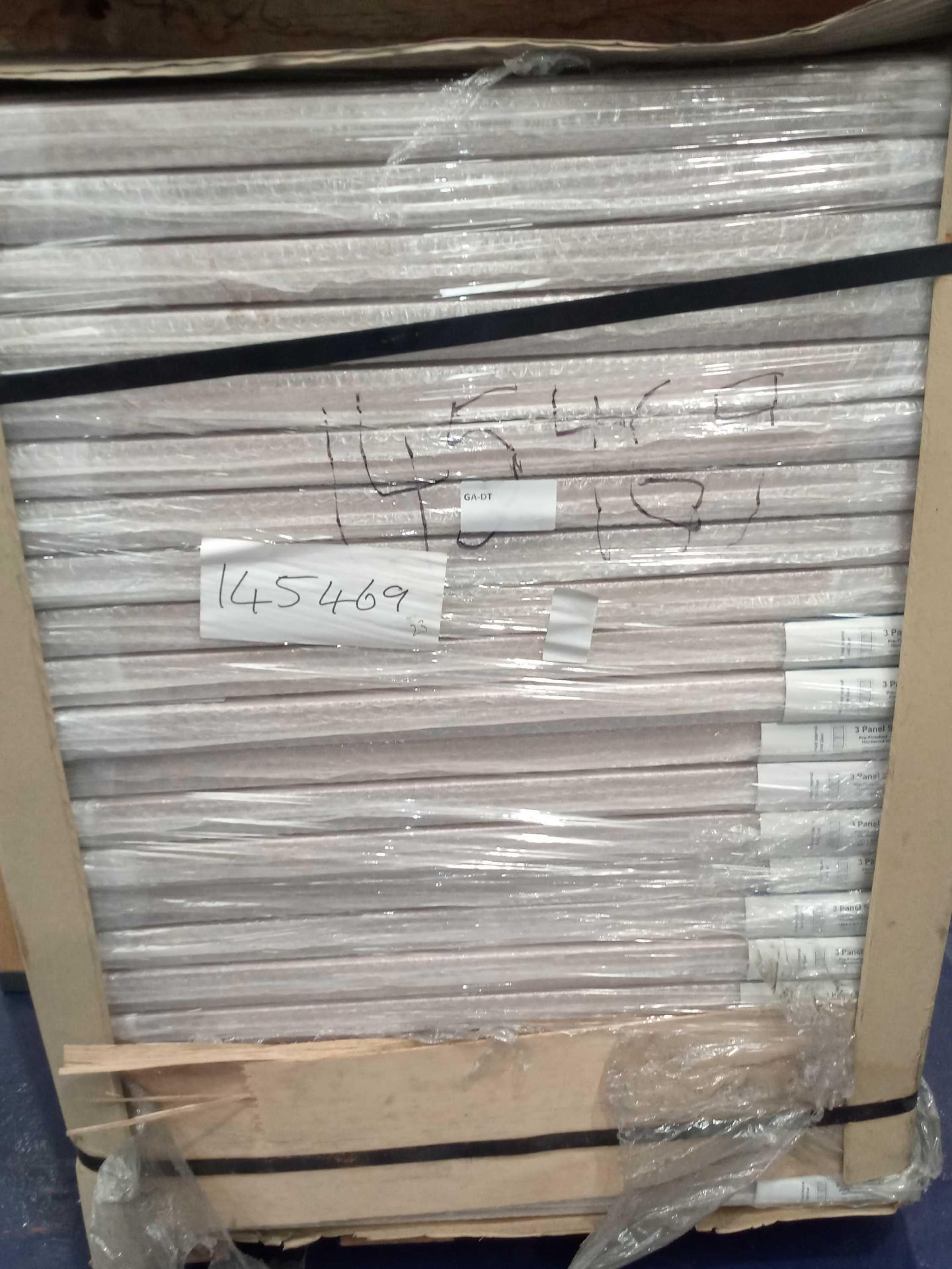 Rrp £4025 Brand New 3 Panel Solid Doors - Image 3 of 3