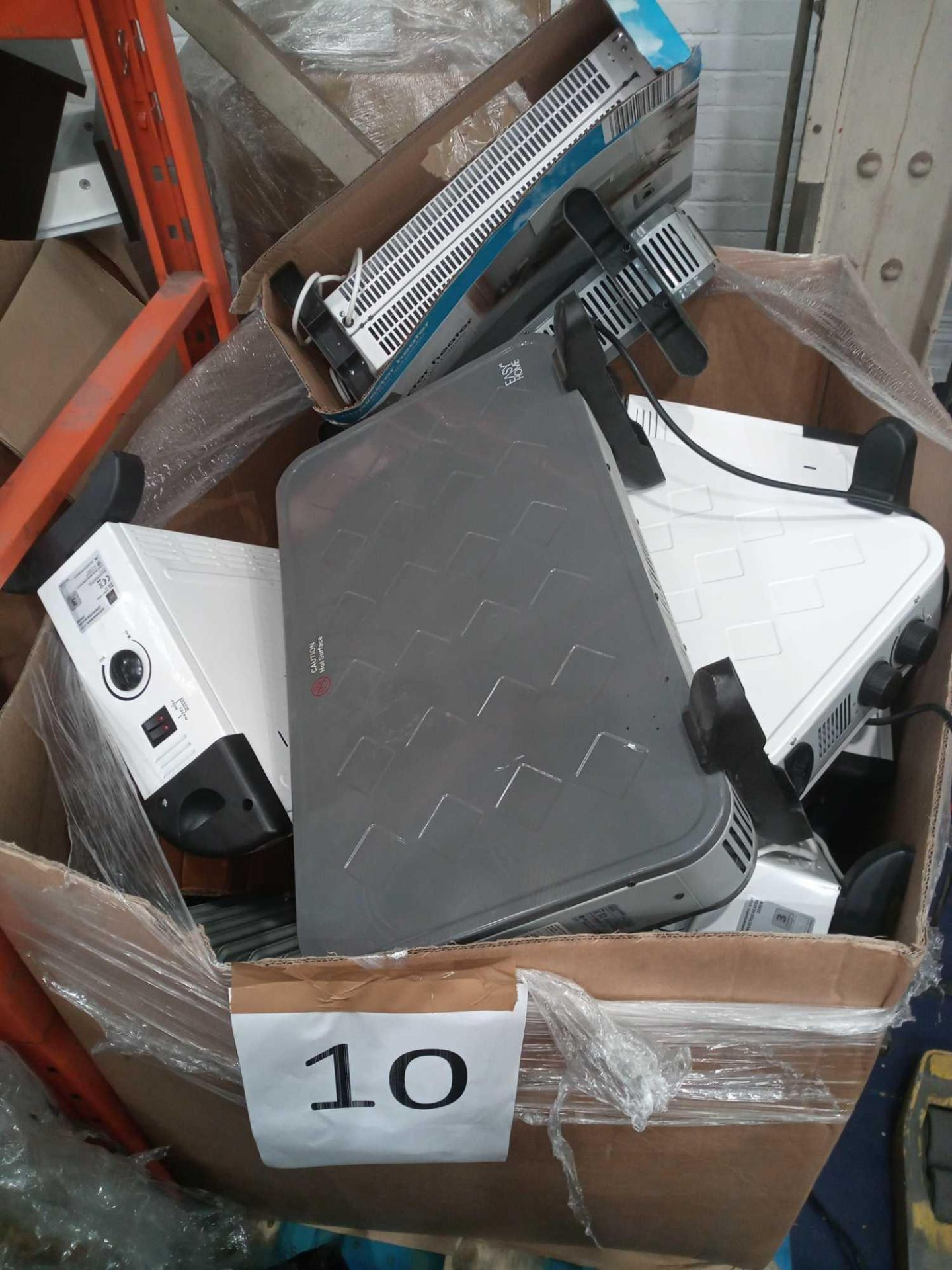 Rrp £700 Pallet Of Assorted Radiators And Heaters
