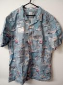 RRP £30 John Lewis Mens Beach Themed Shirt