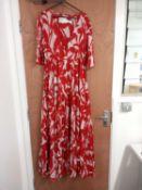 RRP £55 John Lewis Ladies Long Floral Beach Dress