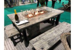 RRP £2800 Brand New Excalibur Designer 6 Piece Garden Set