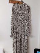 RRP £100 John Lewis Somerset By Alice Temperley Animal Print Shirt Dress Size 14 (1273960)
