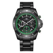 RRP £480 Mens Henry Bridges Grosvenor Green Watch