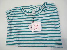 RRP £25 John Lewis Ladies Strip T-Shirt