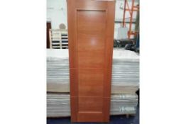 RRP £4200 Brand New 4 Panel Solid Cherry Hardwood Doors