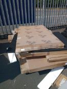 Pallet To Contain A Large Assortment Of Flatpack Furniture Part Lots