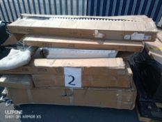 RRP £300 Pallet Of Assorted Flat Pack Furniture Part Lots
