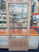 Rrp £1225 Pallet To Contain 7 Brand New Rustic Hardwood External Left Hand 6Ft French Doors (