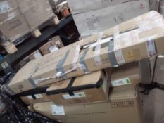 Pallet Of Assorted Flat Pack Furniture Part Lots