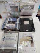 Rrp £150 Lot To Contain 6 Assorted Designer Single Bedding Items House Of Windsor, Dreamscene Premiu