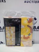Rrp £120 Combine Lot To Contain 8 Brand New Mainstream Aqualona Cheeky Duck Shower Curtains