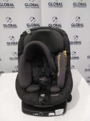 Rrp £300 Unboxed Maxi Cosi Axissfix In-Car Children'S Safety Seat With A 360 Degree Swivel Safety Ba