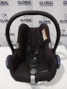 Rrp £100 Unboxed Maxi Cosi Cabriofix Nomad Black In Car Children'S Safety Seat Suitable From Birth