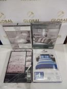 Rrp £155 Lot To Contain 4 Double And King Size Designer Bedding Sets Buy Dreams And Drapes Belle Ami