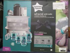 Rrp £90 Boxed Tommee Tippee Advanced Anti Colic Complete Feeding Set