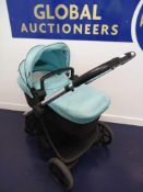 Rrp £650 Icandy Lime Pushchair In Light Blue