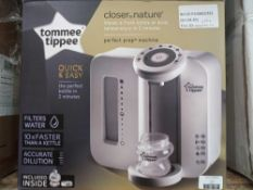 Rrp £70 Boxed Tommee Tippee Closer To Nature Perfect Preparation Bottle Warming Station With Built-I