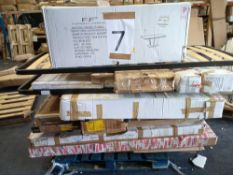 Pallet To Contain A Large Assortment Of Flatpacked Furniture Part Lots (See Description)