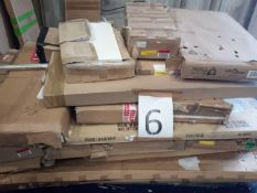 Pallet To Contain A Large Assortment Of Flatpack Furniture Part Lots (See Description)
