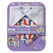 RRP £100 Lot To Contain 20 Brand New Skibz The Original Dribble Bibs (0-3Yrs)