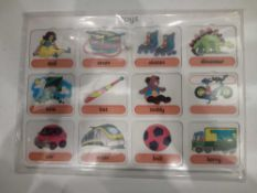 RRP £150 Lot To Contain 20 Brand New Willis Toys Educational Toys Vocabulary Board Packs