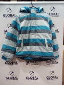 RRP £180 Lot To Contain 6 Brand New Muddy Puddles 11-12Y Ski Jackets